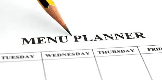 Planning meals for a busy week