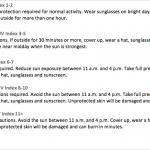 UV index