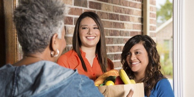 seniors and healthy eating