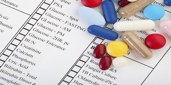 Blood tests commonly ordered