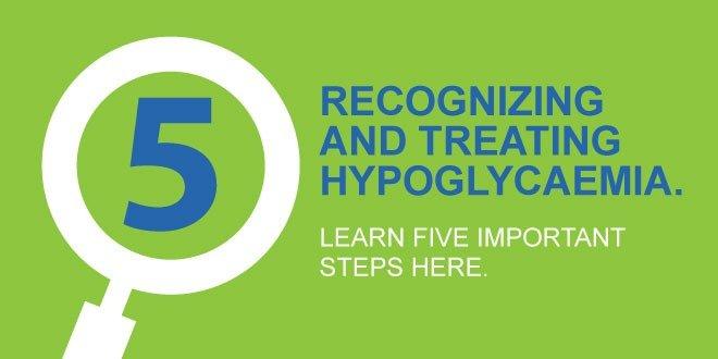 hypoglycemia 5 important steps