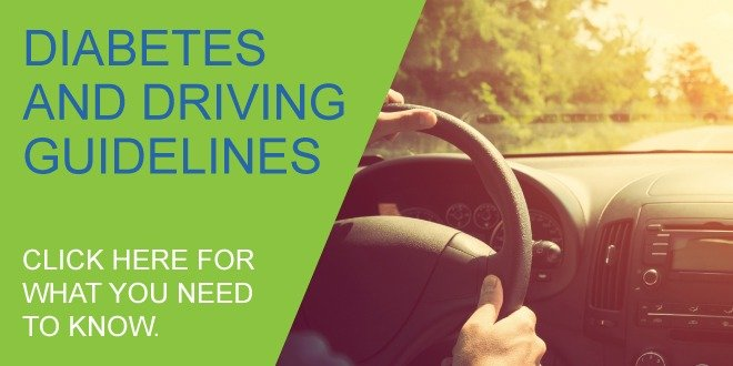 diabetes and driving guidelines