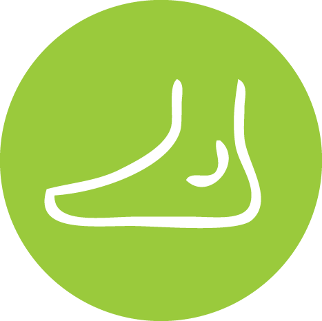 Foot checker icon