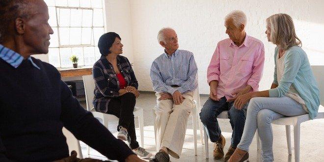 senior support group