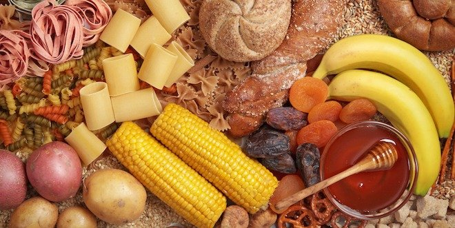 Carbohydrate Content Of Foods Includes Printable Chart Diabetes