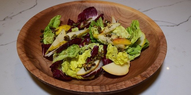 fall simple salad