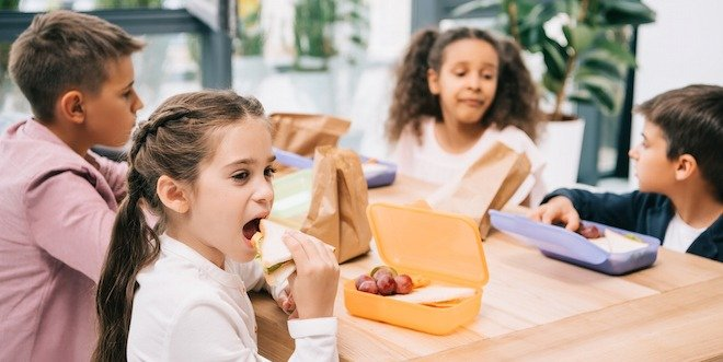 school lunches for kids with diabetes
