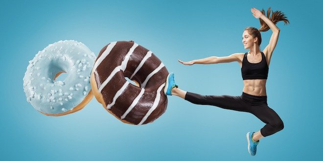 exercising off calories