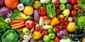 10 fruits and vegetables