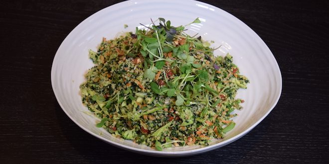 super green super seed salad