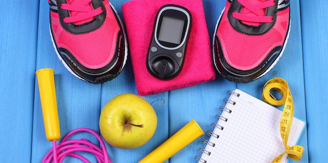 Exercise and blood sugar control