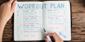 Exercise plan for diabetes - daily, weekly, monthly
