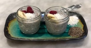 QUICK AND EASY CHIA PUDDING