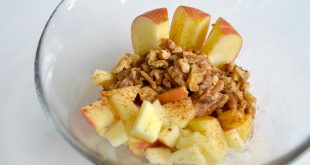 apple walnut oatmeal