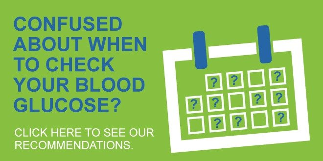 when to check blood glucose