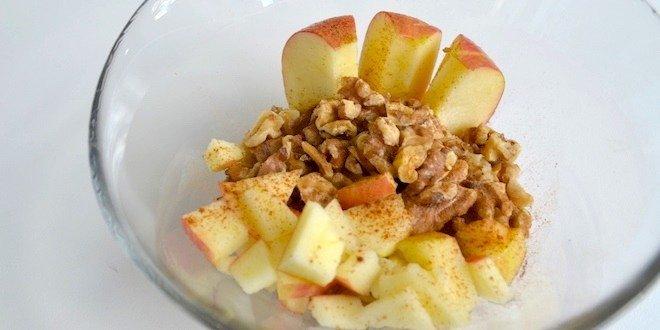 Apple walnut oatmeal recipe