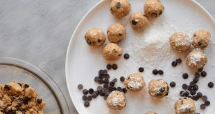 high protein cookie dough balls