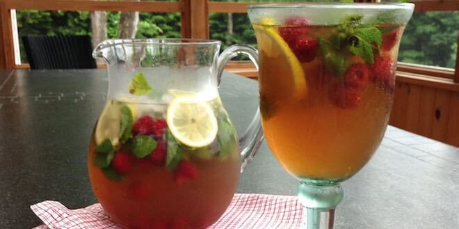 Drink feature Moroccan-mint-iced-tea