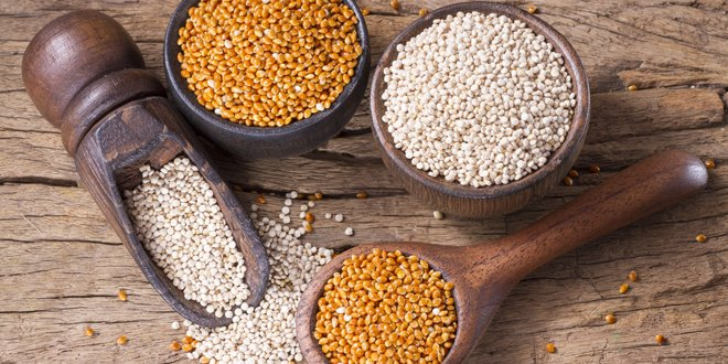 Two newer grains you should consider: quinoa and millet