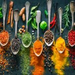 Simple cooking with spices